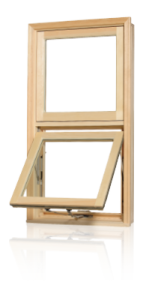Fenêtres Auvent bois naturel