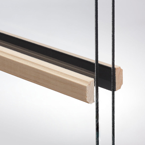 Fen tres guillotine bois naturel portes et fen tres plus for Barrotin fenetre