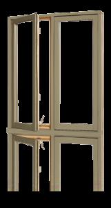 Fenêtres Battant Recouvrement aluminium