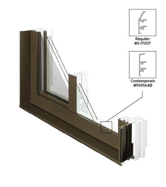 Fen tres coulissantes simples portes et fen tres plus for Fenetre coulissante rectangulaire
