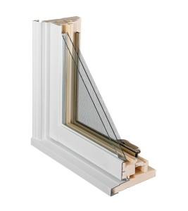 Fenêtres Battant Recouvrement aluminium coupe